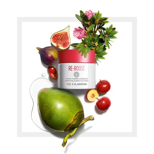 My Clarins RE-BOOST Matifying Moisturizing Cream