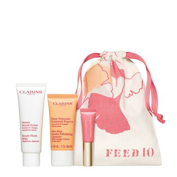 FEED & Clarins Collection