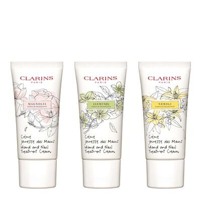 Scented Hand and Nail Treatment Cream Trio