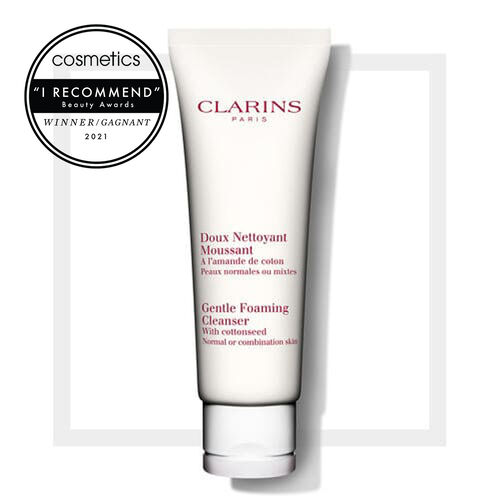 Gentle Foaming Cleanser with Cottonseed
