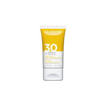 Crème Solaire Visage Toucher Sec FPS 30
