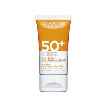 Crème Solaire Visage Toucher Sec FPS 50+