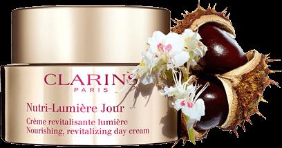Crème de jour Nutri-Lumière avec extrait de marronnier d'Inde