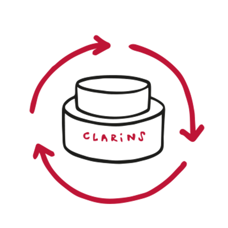 Clarins We Care - Éco-packaging