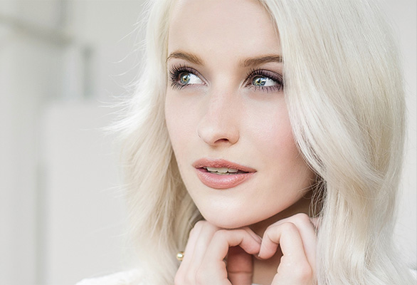 Le look maquillage de @inthefrow