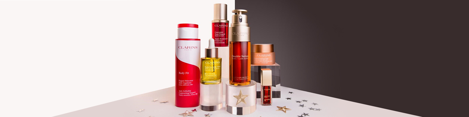 Friends & Family. Get glowing with up to 25% OFF our Clarins all-stars.
