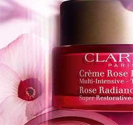 Pack Crème Rose avec fleur d'hibiscus