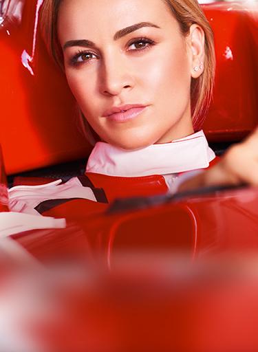 Mannequin pilote de formule 1