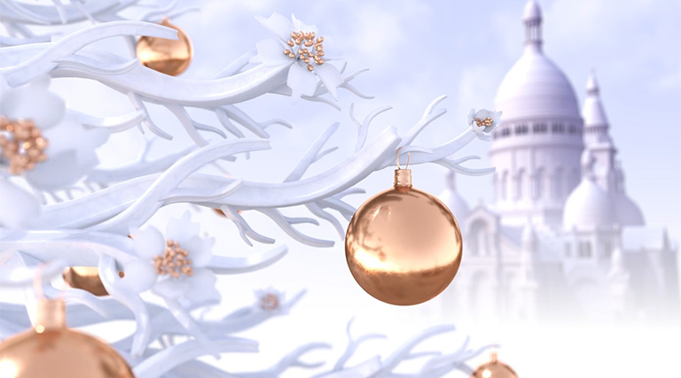 Discover the magic of Christmas in a video