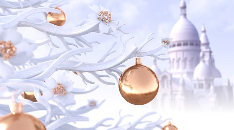 Discover the magic of the holiday season in a video