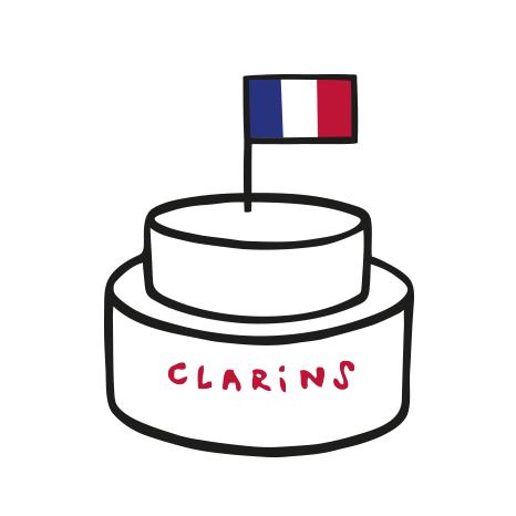 Clarins We Care - Fait en France