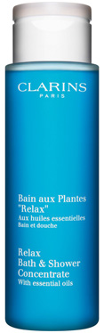 Relax Bath & Shower Concentrate with 100% Pure Plant Extracts