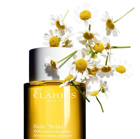 Relax Body Treatment Oil with Camomile flowers