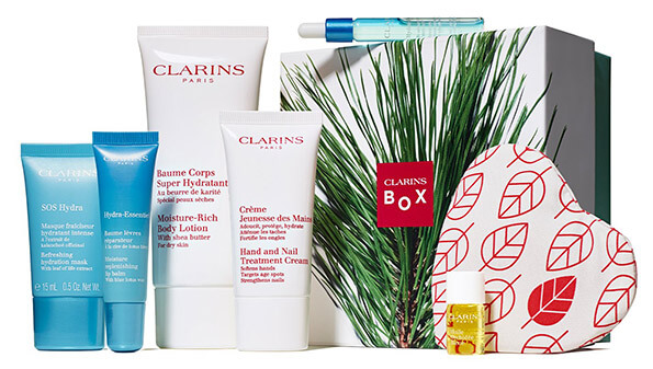 In my Clarins Freezing Box