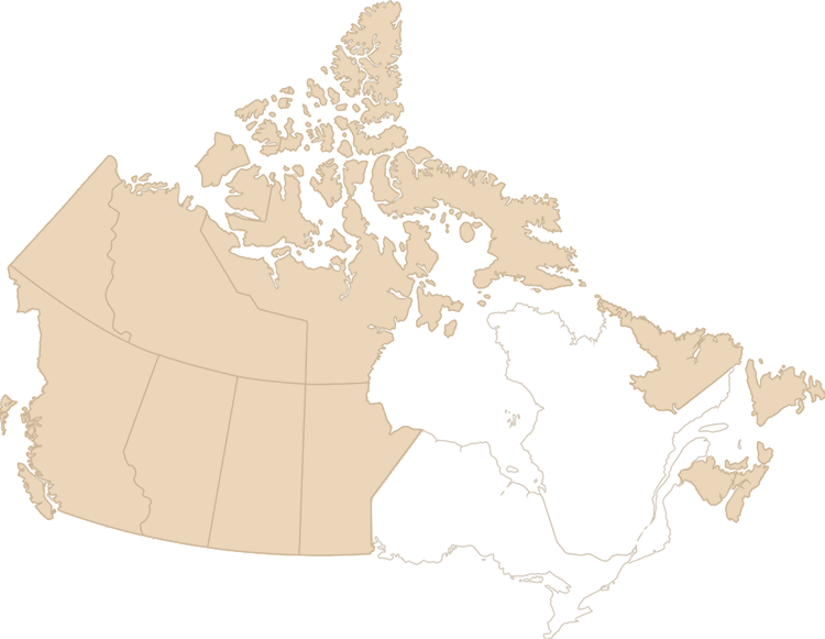 Remote areas nationwide shipping map