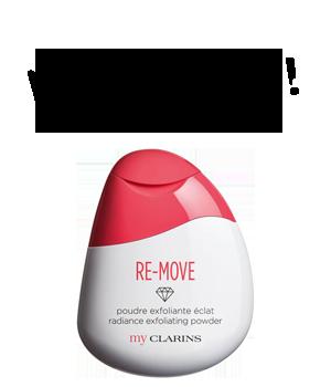 My Clarins RE-MOVE poudre exfoliante éclat