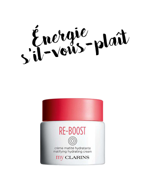 My Clarins RE-BOOST crème matité hydratante