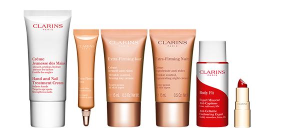 Clarins.com Birthday Gift